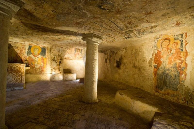 Cripta del Crocifisso a Ugento.