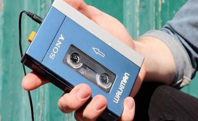 Sony Walkman tipico.