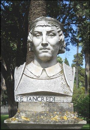 Tancredi di Sicilia, conte di Lecce nato nel 1138.