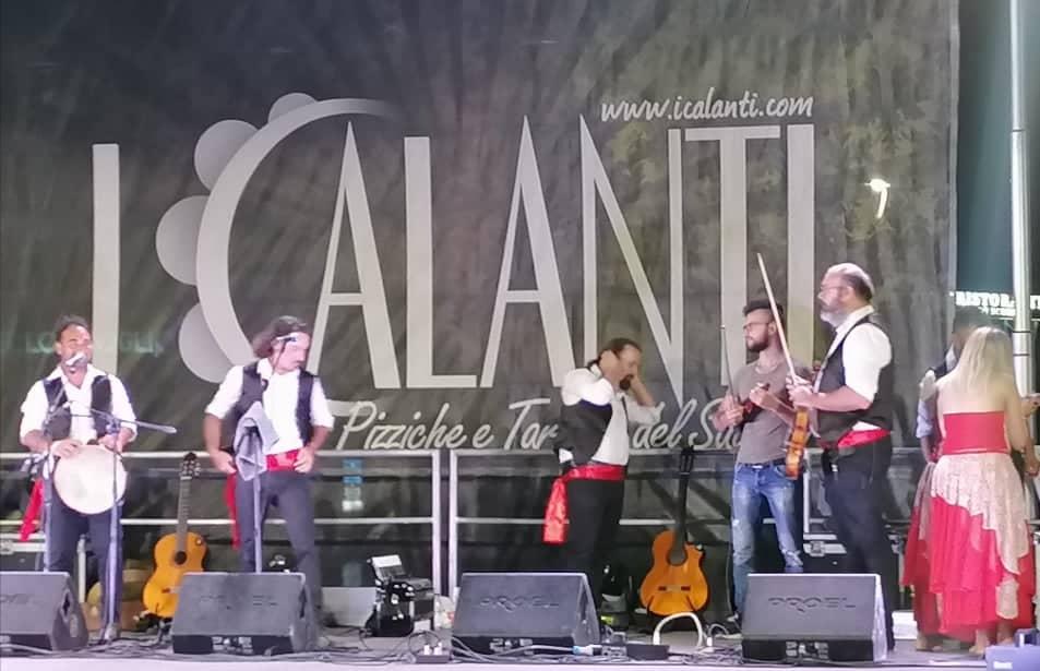 """Pizzica Live con """"I Calanti""""."""