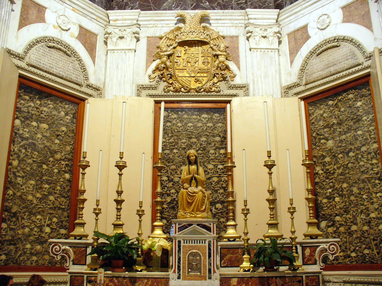 I martiri del Colle Minerva e le loro reliquie nel Duomo di Otranto.