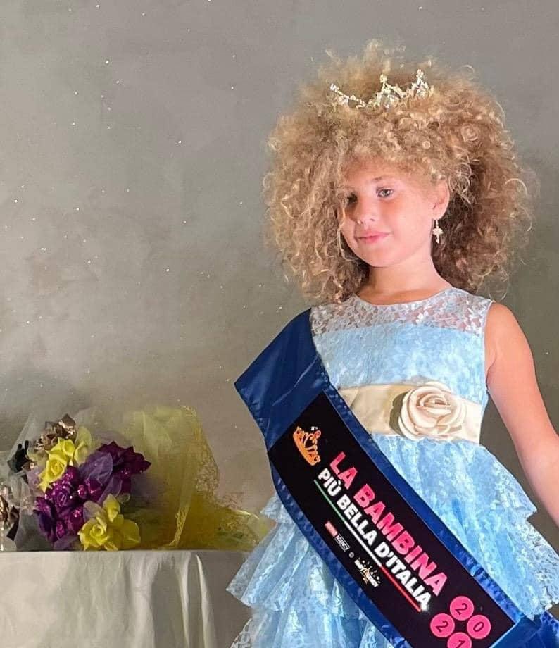 Emily De Pace, la bambina più bella d'Italia.